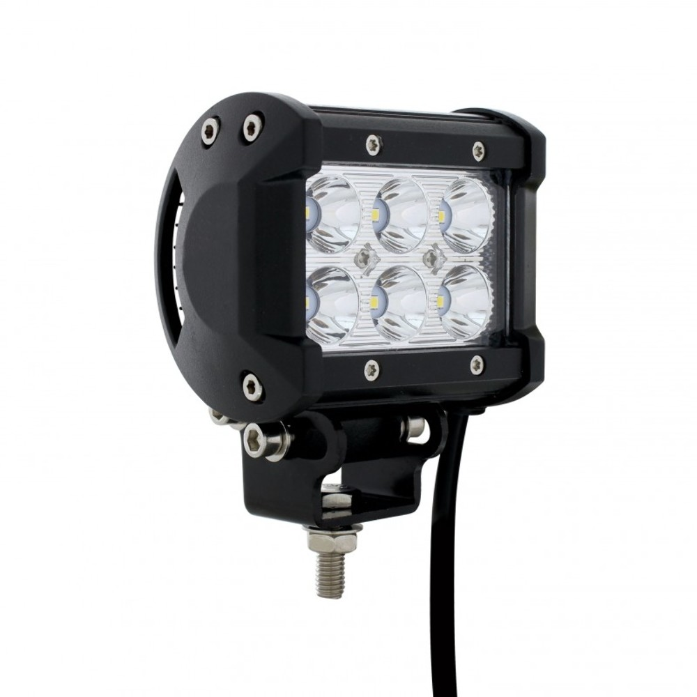 6 high power 3 watt led driving work spot light. Black Bedroom Furniture Sets. Home Design Ideas