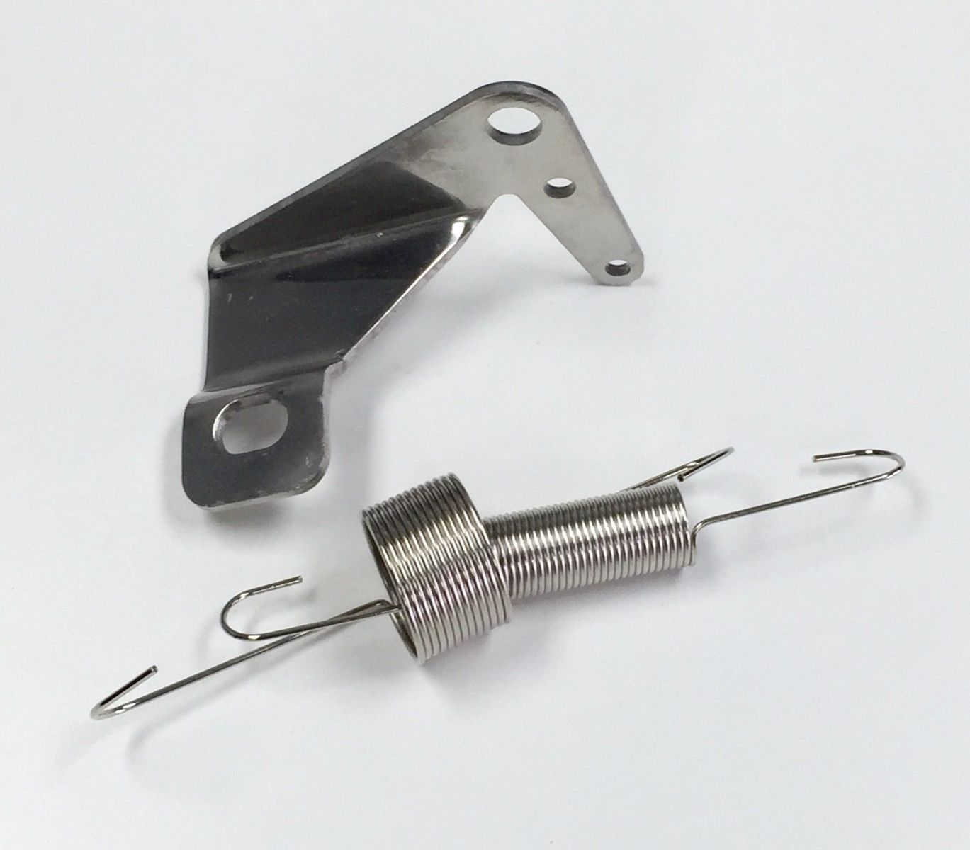 Hot Rod Cable : Hot rod stainless throttle cable bracket dual spring kick