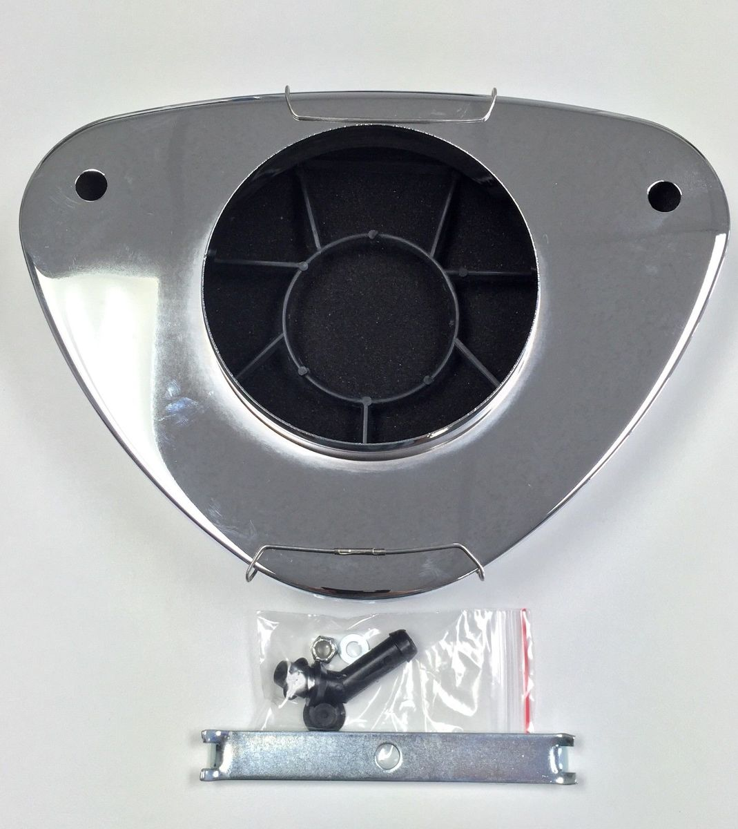 Air Cleaner Edelbrock Marine : Hot rod super flow low profile triangle air cleaner
