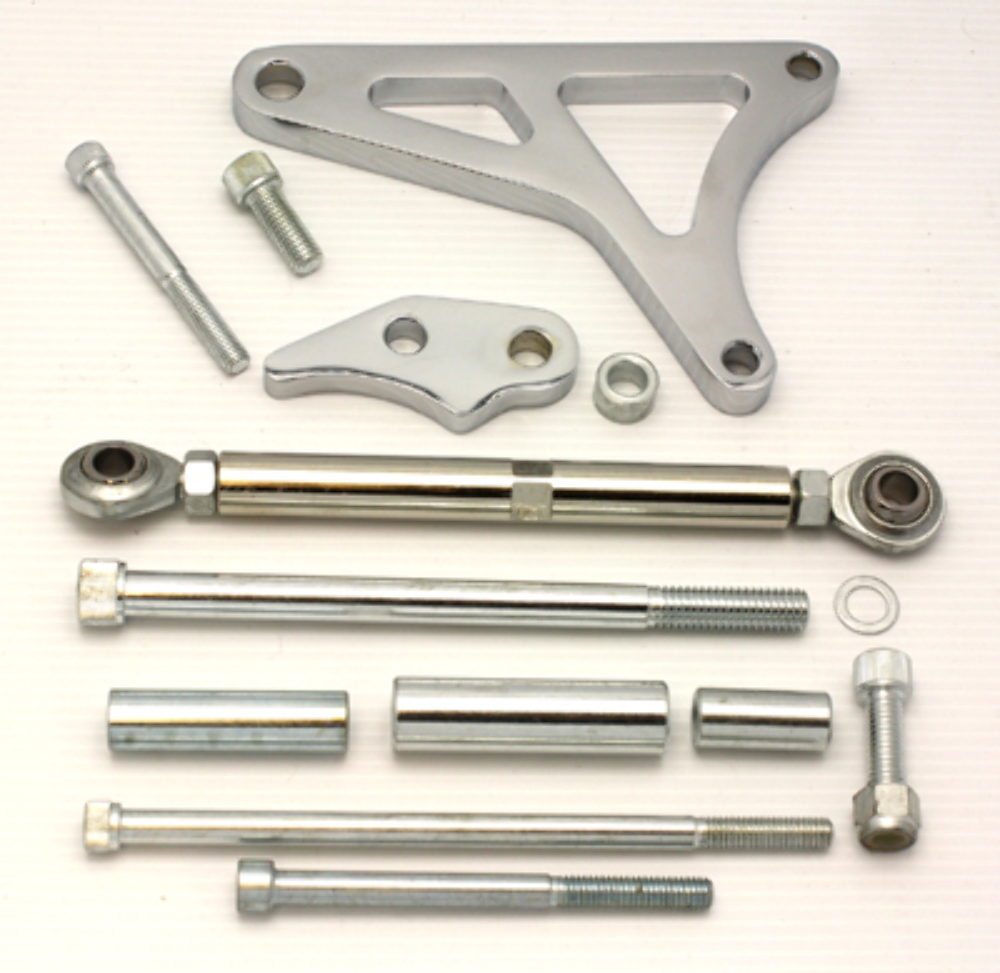 chrome aluminum alternator bracket ford mustang 289 302. Black Bedroom Furniture Sets. Home Design Ideas