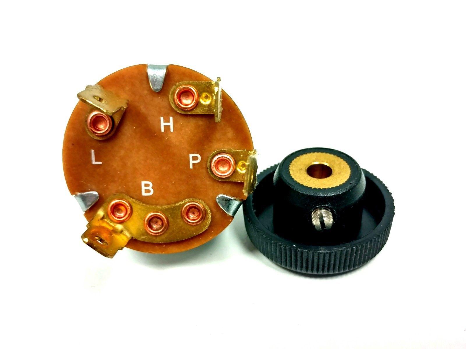 Universal Windshield Wiper Motor 3 Position Switch W   Knob
