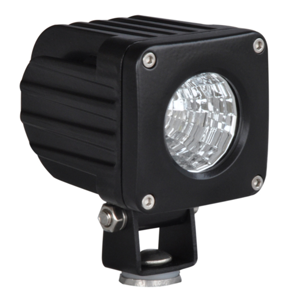 Truck Flood Lights : Pirate quot square watt cree led flood light black
