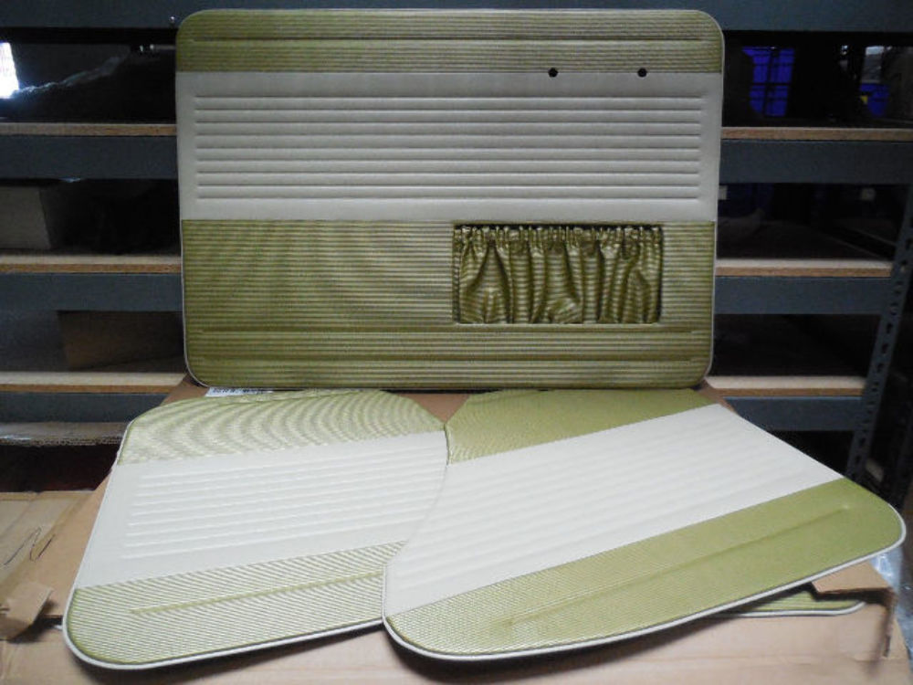 Vw Bug 65 66 Tmi Oem Classic Style Door Panel Set Pea