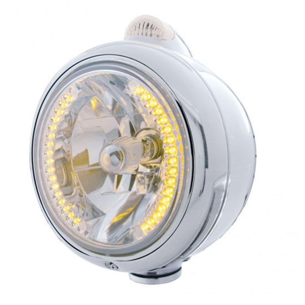 Upi 32427 Chrome Guide Headlight