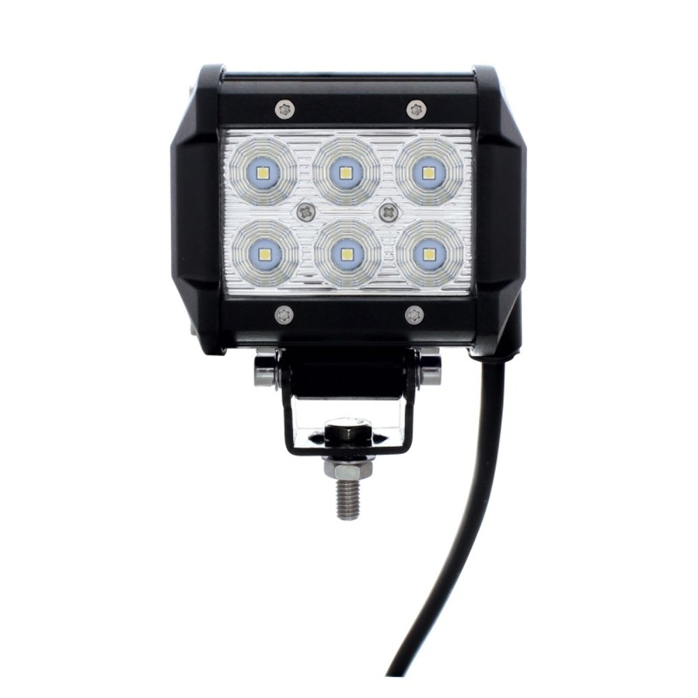 6 high power 3 watt led driving work flood light. Black Bedroom Furniture Sets. Home Design Ideas