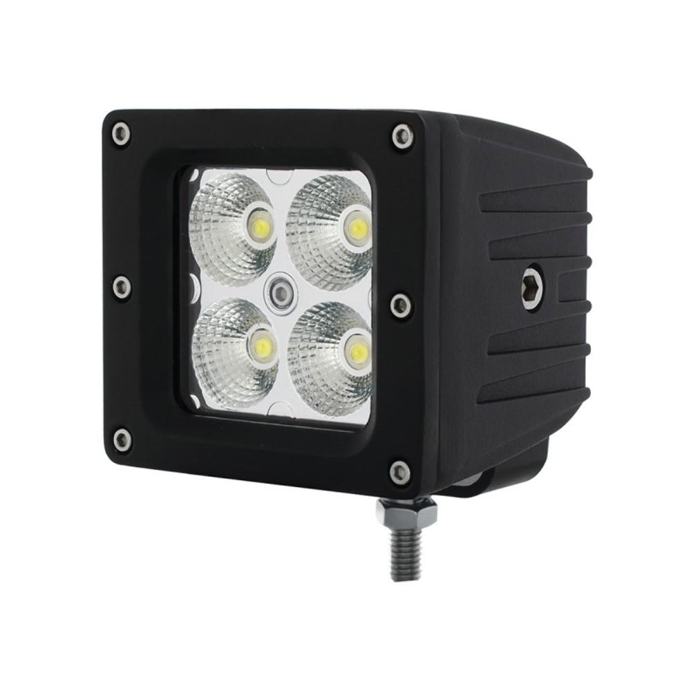 "4 High Power LED ""X2"" Flood Light Bracket Mount 1400"