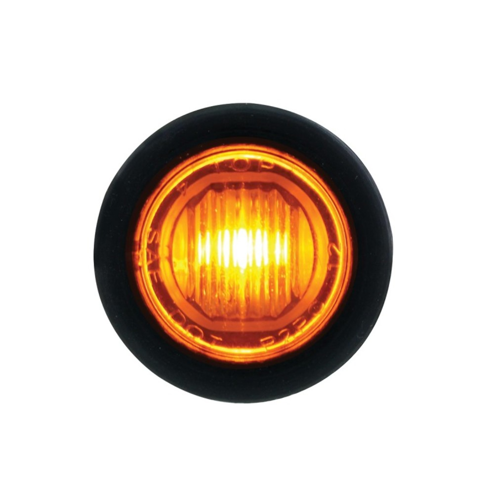 1 Smd Led Mini Clearance  Marker Light  Amber
