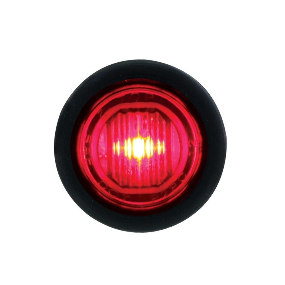 Red Led Lights : SMD LED Mini Clearance/Marker Light - Red LED/Red Lens - Truck ...
