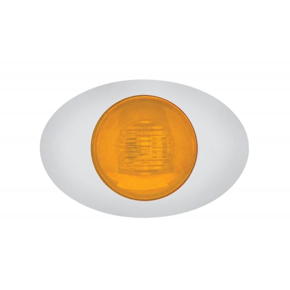5 led m3 millennium clearance marker light glo light amber led w amber lens pirate mfg. Black Bedroom Furniture Sets. Home Design Ideas