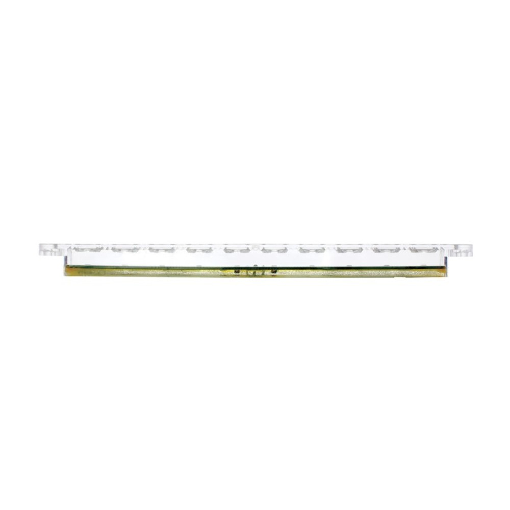 10 led 9 auxiliary light bar 3 wire white led. Black Bedroom Furniture Sets. Home Design Ideas