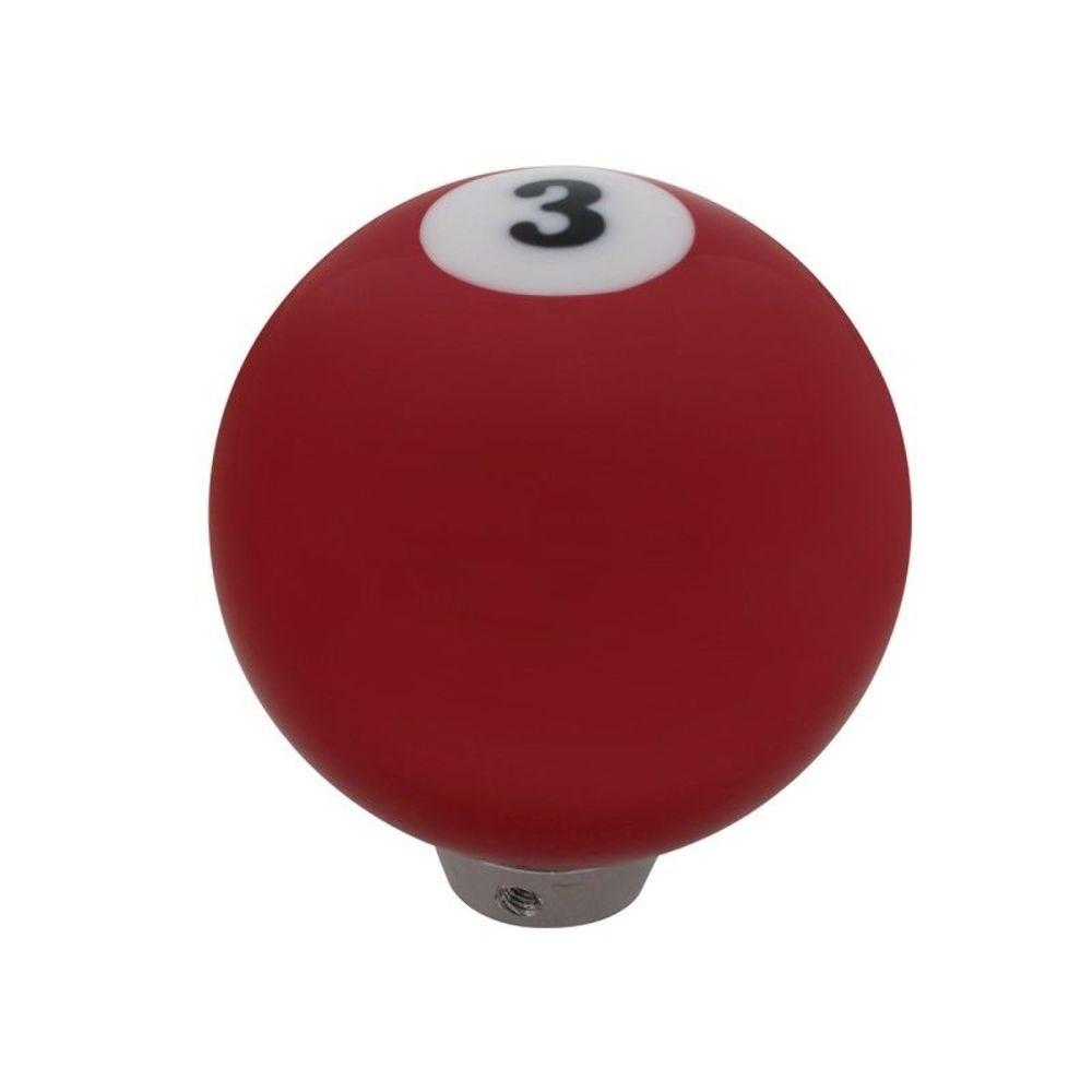 universal red pool ball gearshift knob
