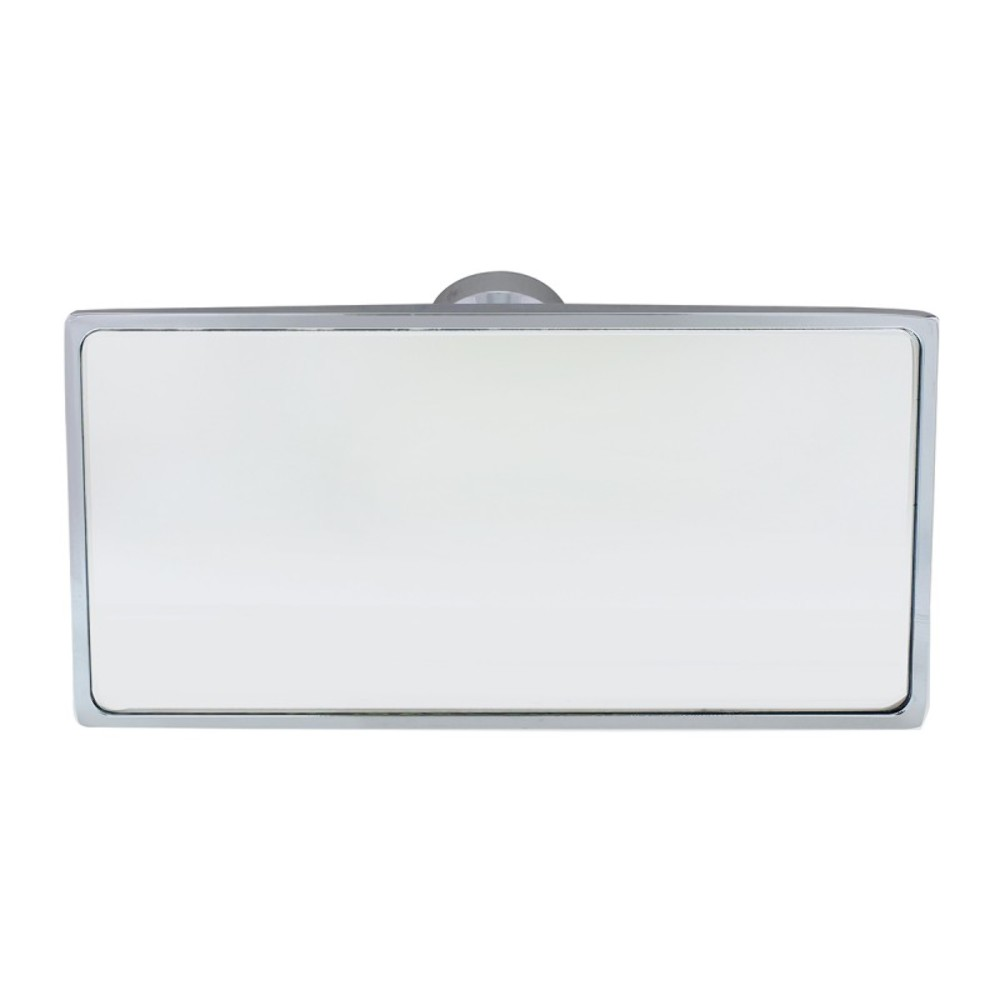 Universal Chrome Interior Rear View Mirror With Glue On
