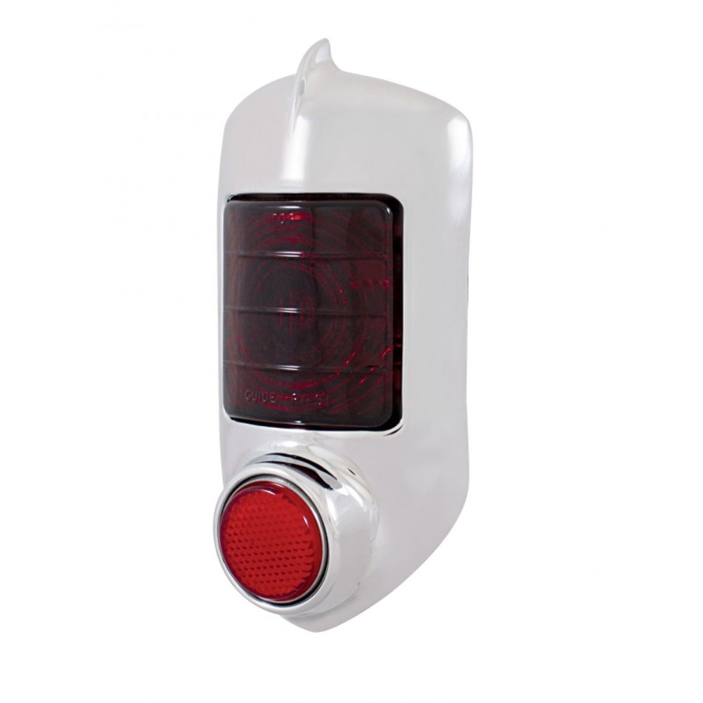 Tail Light Lens Assembly : Chevy tail light assembly red glass lens