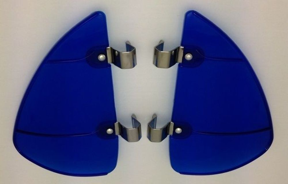 Vintage Style Blue Accessory Vent Wing Air Deflector