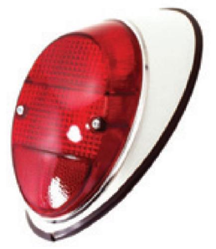 Tail Light Assembly, Left/Driver Side, VW Bug 1962-1967 111 945 095N