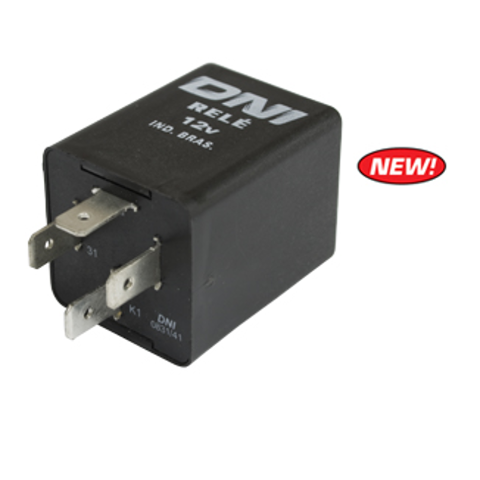 turn signal flasher relay 12 volt 4 prong vw type 1 2 3. Black Bedroom Furniture Sets. Home Design Ideas