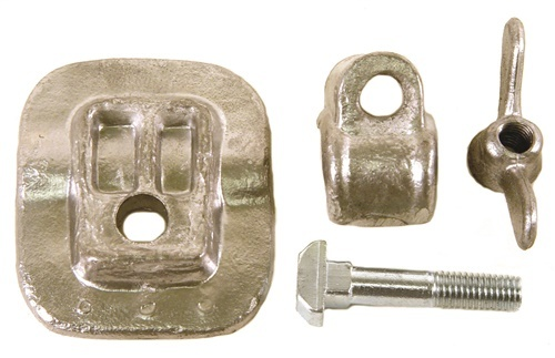 98-8976-B SEAT CLAMP KIT, 4 PCS.