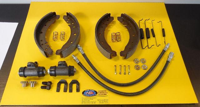 EMPI VW BUG BEETLE TYPE 1, 58-64 COMPLETE REAR BRAKE SHOE ...