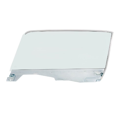 Complete Tint Door Glass Assembly For 1965-66 Ford Mustang Convertible - L/H