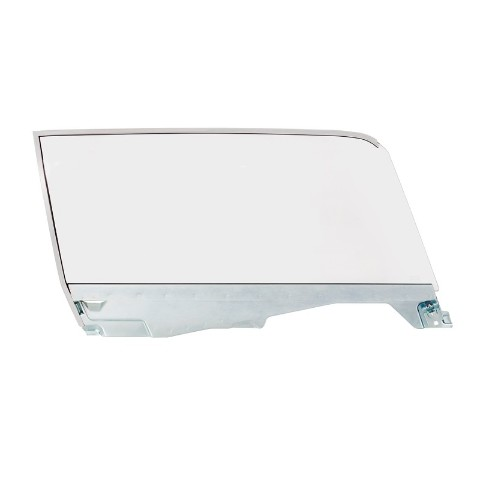Complete Clear Door Glass Assembly For 1965-66 Ford Mustang Coupe - R/H