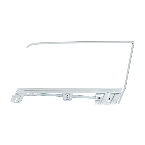Door Glass Frame Kit For 1967-68 Ford Mustang Coupe -  L/H