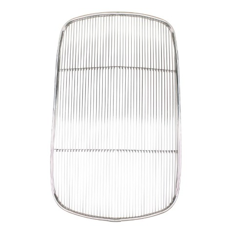 Original Style 1932 Ford Passenger Stainless Steel Grille Insert w/o Crank Hole