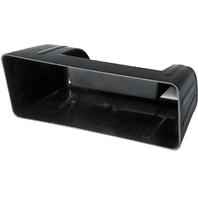 EMPI Black Plastic Hidden Stereo Glove Box VW Bug VW Beetle 1958-1964 3033