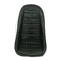 VW BUG BAJA ROCK CRAWLER SAND RAIL LOW-BACK VINYL SEAT COVER, BLACK