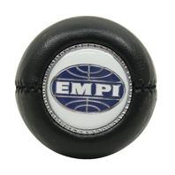 "EMPI  VW BUG SHIFT PATTERN GEAR SHIFT KNOB ""EMPI LOGO"" BLACK 4540"