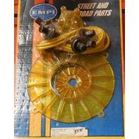 Engine Trim Dress Up Kit Yellow 4 Pieces VW Bug VW Dune Buggy VW Beetle 8745