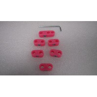 EMPI  VW BUG BUGGY BUS GHIA SAND RAIL BAJA TYPE 3 WIRE SEPARATORS,NEON PINK 8752