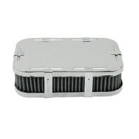 EMPI VW BUG BUGGY CHROME AIR CLEANER WEBER DFV,DFAV,DFEV,1-3/4 TALL  8809