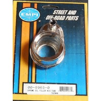 VW Bug, Beetle Baja   Chrome Oil Filler Without The Tube,   8963