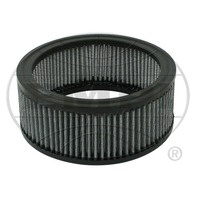 """EMPI VW Bug 6-3/8"""" Round Air Cleaner  2-1/2 """" Tall Gauze Element Only 8975"""