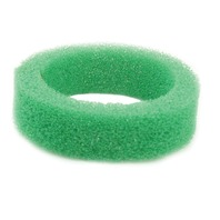"""EMPI VW Bug 5"""" Round Air Cleaner  1-1/4 """" Tall Green Foam  Element Only 9155"""