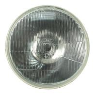 "Chrome Off-road Headlight Bulb 7"" 12v H-4 55/60W for Dune Buggys  Baja Bug 9311"