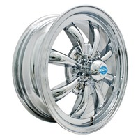 EMPI GT-8-Spoke EMPI Rim 5.5 X 15 Chrome wheel VW bug Type 1 2 3 ,4-130  9683