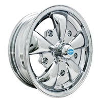 VW BUG GHIA EMPI WHEEL GT-5-Spoke EMPI 5.5 X 15 CHROME PLATED