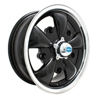VW BUG GHIA WHEEL GT-5-Spoke EMPI  5.5 X 15  5X205  GLOSS BLACK  9690, EACH