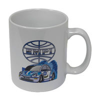 Empi VW Air Cooled New Beetle Inch Pincher Coffee Mug 9897
