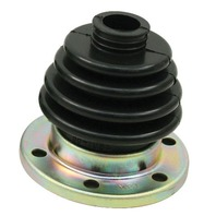 EMPI  VW LATE TYPE 2/4 IRS C.V. JOINT BOOT  W/FLANGE ,EACH, BLACK  86-1086