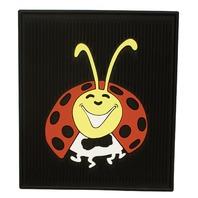 VW Bug Beetle Baja  LADY-BUG COLORED Floor Mats All Years, Rear Pair, 15-1098