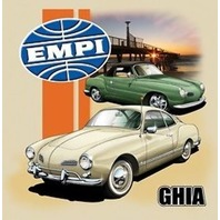 Empi T-Shirt VW Volkswagen  Ghia 100% Cotton Small 15-4079