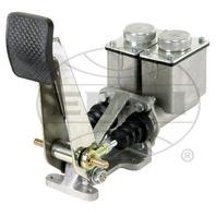 "Baja Rock Crawler H.D. 4 Wheel Brake, Single Pedal, 3/4"" w/High Sq.Res.Polished"