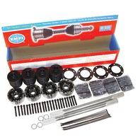 "Empi Hi-Performance 4030 Chromoly IRS axle Kit,Type 2 19 1/4"" ,33 Spline 16-2232"