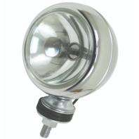 """Chrome Off-road Light 55 Watt 4"""" Each for Dune Buggys & Rails Baja Bug 16-9150"""