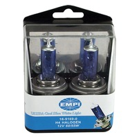 EMPI  VW Replacement  Bulbs, H4 12V 60/55W, Ultra Cool Clear White Light 16-9168