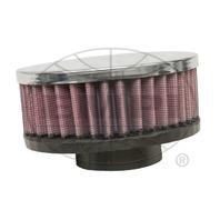 """EMPI VW Bug Round Gauze Rubber Flange Air Cleaner STK Carb 2"""" Neck 2-3/4 17-2978"""