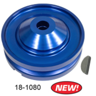 Blue 12V Alternator / Generator Pulley Kit VW Bug Beetle Baja Buggy EMPI 18-1080