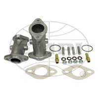 VW BUG TYPE 1/3 SINGLE PORT  EMPI 34 OR ICT CARBURETOR MANIFOLD KIT 43-5205